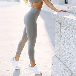 OG slate grey energy seamless gymshark leggings